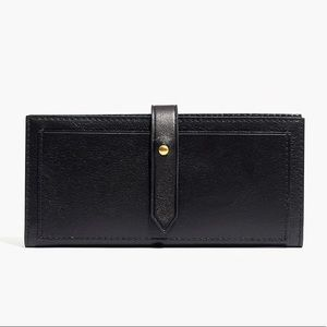 NWOT Madewell Post Wallet in Black